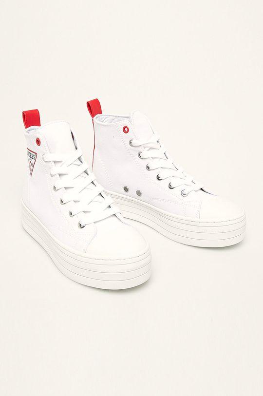 Guess Jeans - Trampki biały