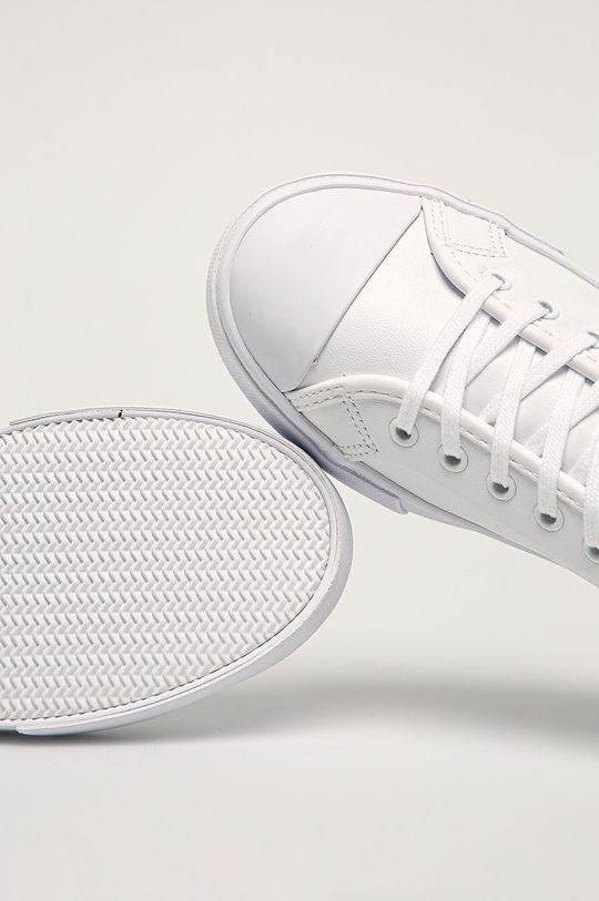 biela Lacoste - Kožené tenisky