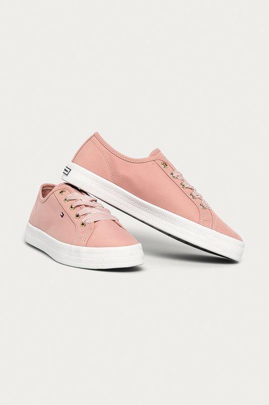 Tommy Hilfiger - Topánky ružová