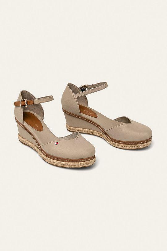 Tommy Hilfiger - Sandale culoarea tenului