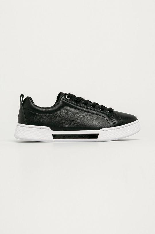 černá Tommy Hilfiger - Kožené boty Dámský