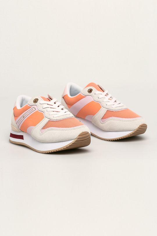Tommy Hilfiger - Topánky oranžová
