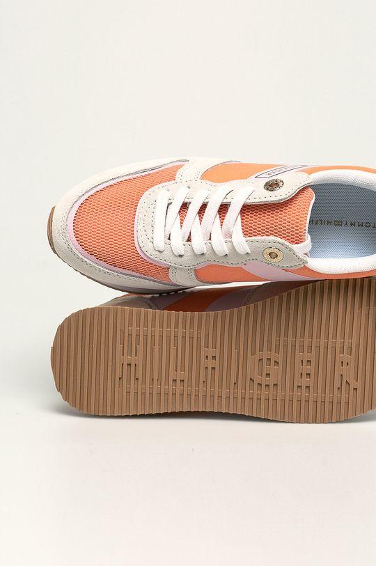 oranžová Tommy Hilfiger - Topánky