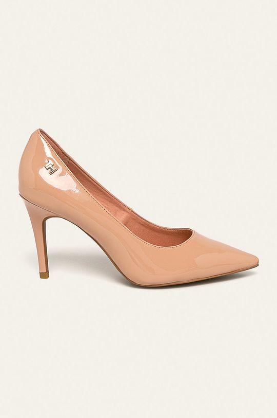nisip Tommy Hilfiger - Pantofi cu toc De femei