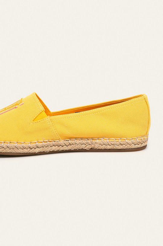 jasny żółty Tommy Hilfiger - Espadryle
