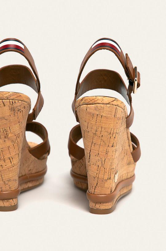 Tommy Hilfiger - Sandały skórzane Cholewka: Skóra naturalna, Wnętrze: Materiał syntetyczny, Skóra naturalna, Podeszwa: Materiał syntetyczny
