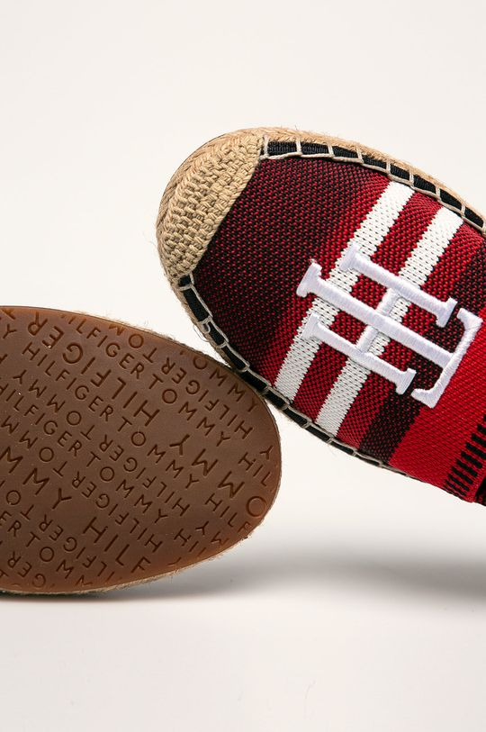 Tommy Hilfiger - Espadryle Cholewka: Materiał tekstylny, Skóra naturalna, Wnętrze: Materiał tekstylny, Skóra naturalna, Podeszwa: Materiał syntetyczny