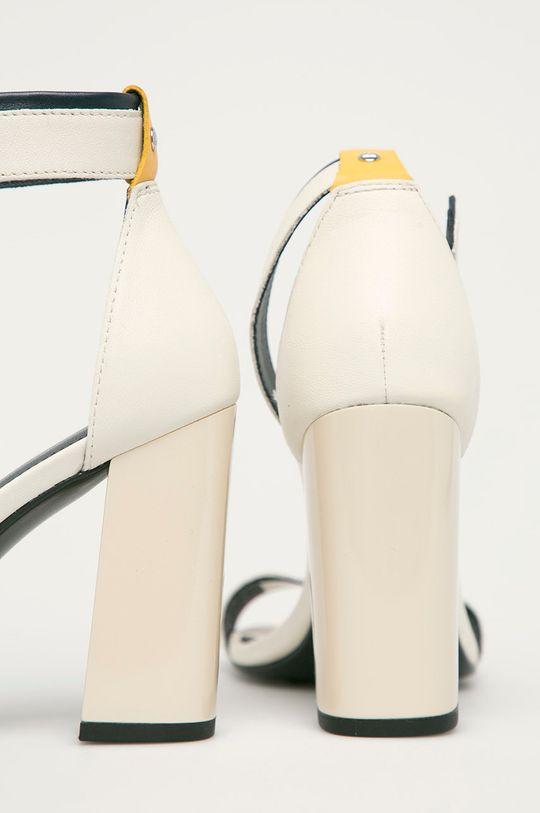 Tommy Hilfiger - Sandały skórzane Cholewka: Skóra naturalna, Wnętrze: Skóra naturalna, Podeszwa: Materiał syntetyczny