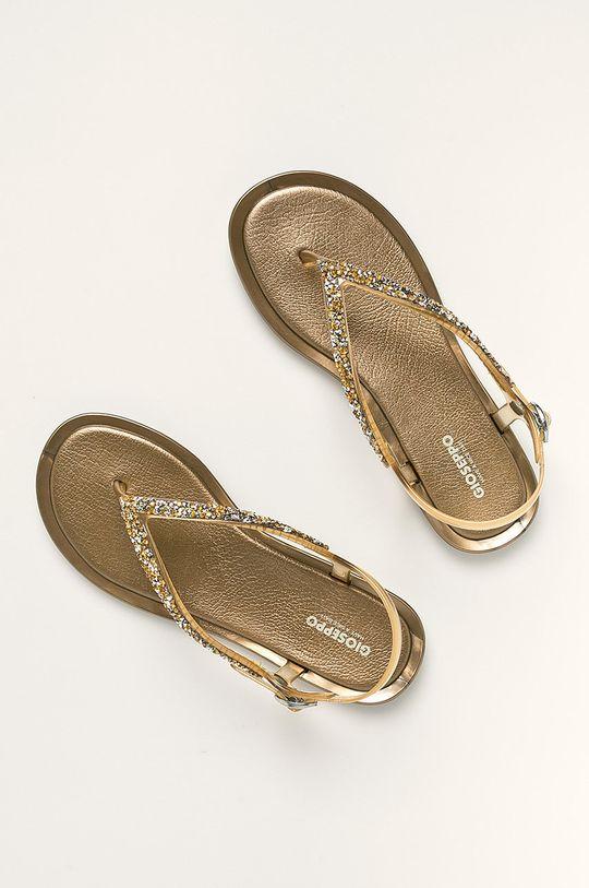 Gioseppo - Sandále zlatá