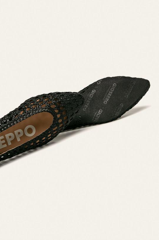 čierna Gioseppo - Kožené balerínky