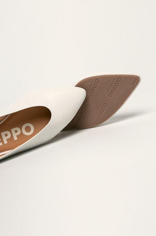 biela Gioseppo - Kožené balerínky