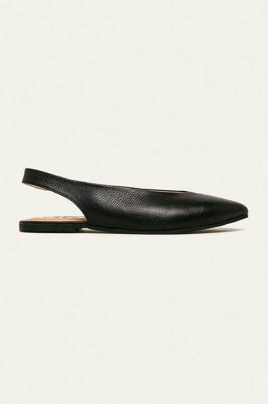 čierna Gioseppo - Kožené balerínky Dámsky