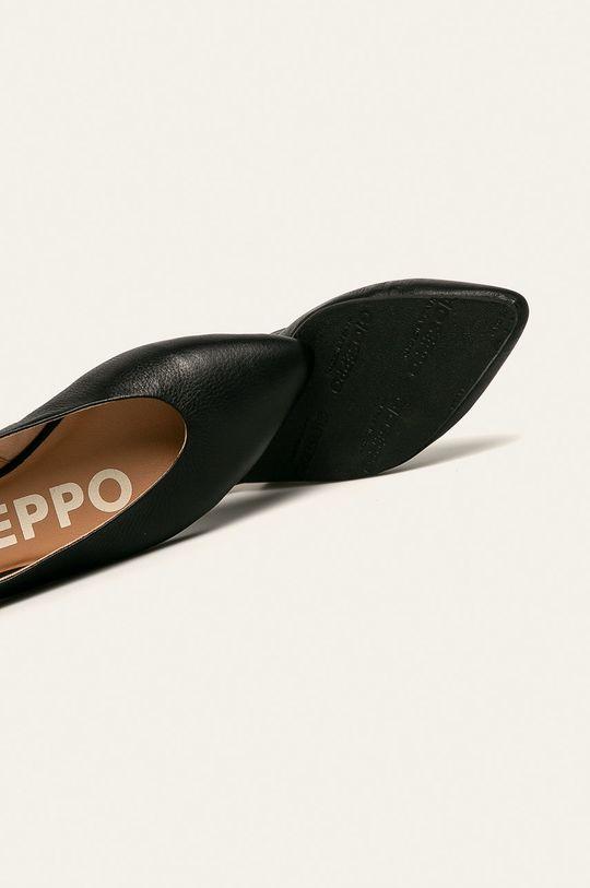 negru Gioseppo - Balerini de piele