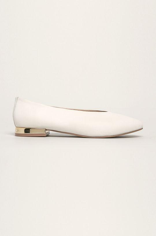 biela Gioseppo - Kožené balerínky Dámsky
