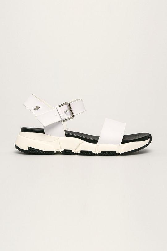 biela Gioseppo - Kožené sandále Dámsky