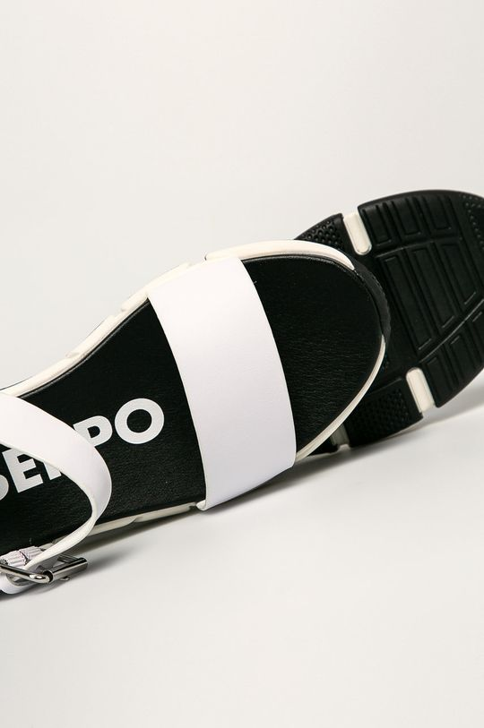 biela Gioseppo - Kožené sandále