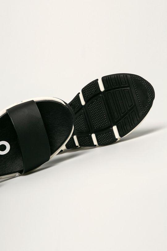 čierna Gioseppo - Kožené sandále