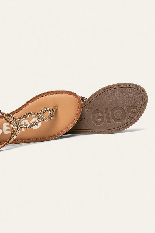 zlatá Gioseppo - Kožené sandále