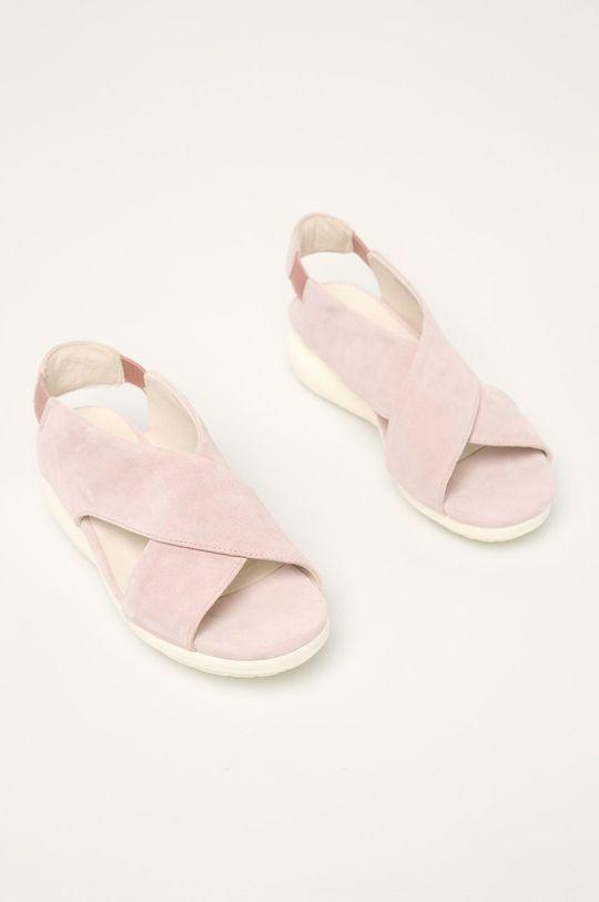 Camper - Sandale de piele Balloon roz pastelat