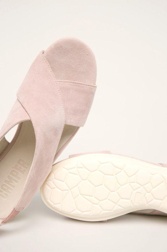 roz pastelat Camper - Sandale de piele Balloon