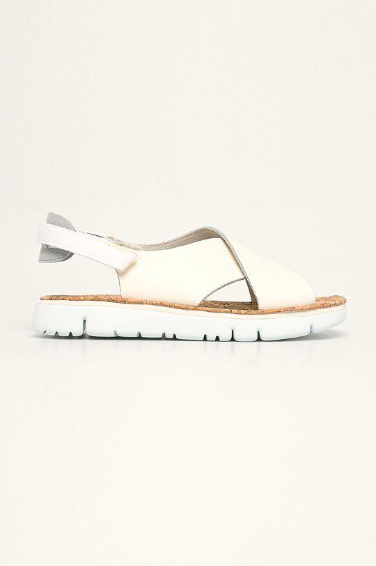 krémová Camper - Kožené sandále Oruga Dámsky