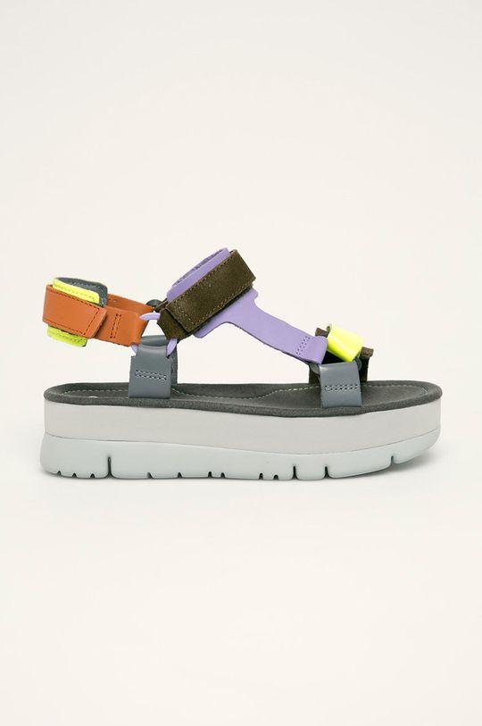 gri Camper - Sandale de piele Oruga Up De femei