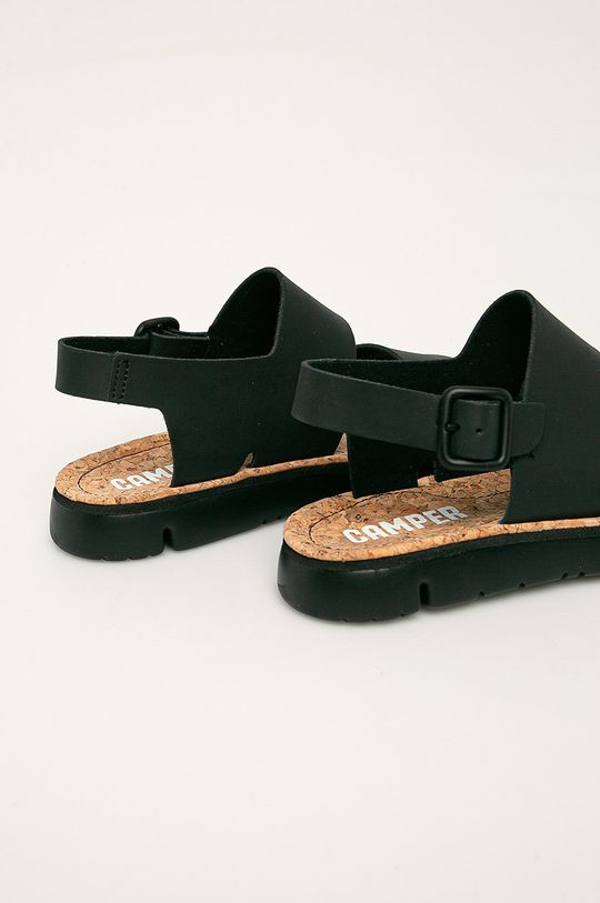 Camper - Kožené sandály Oruga Svršek: potahová kůže Vnitřek: Textilní materiál Podrážka: Umělá hmota