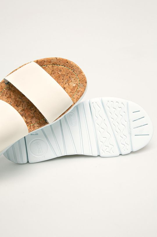 smetanová Camper - Kožené sandály Oruga Sandal
