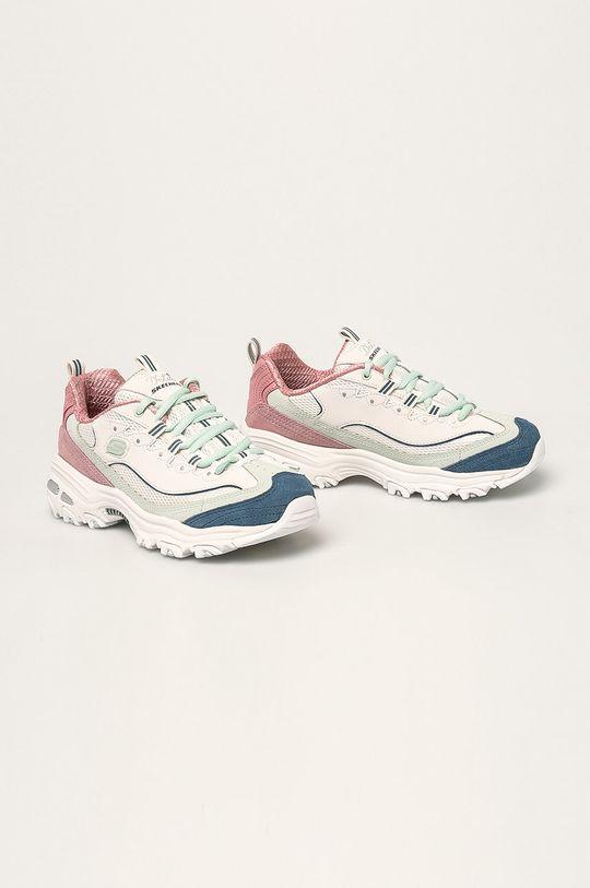Skechers - Topánky biela