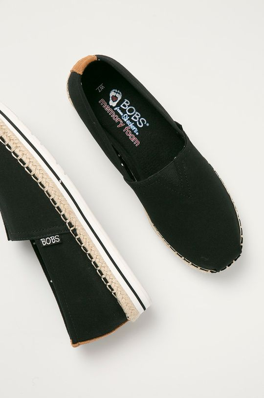 czarny Skechers - Espadryle