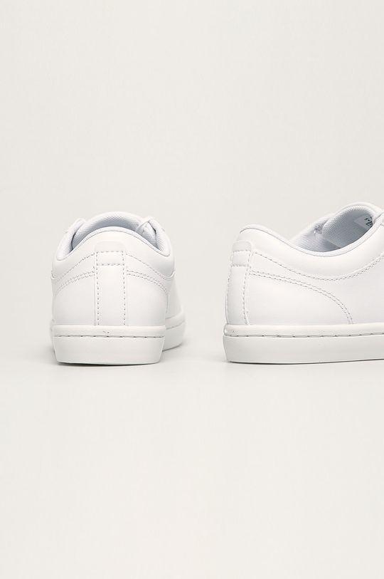Lacoste - Kožené boty Straight Set Svršek: Přírodní kůže Vnitřek: Textilní materiál Podrážka: Umělá hmota