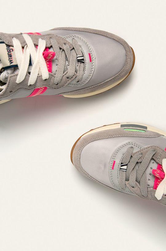 svetlosivá Wrangler - Topánky