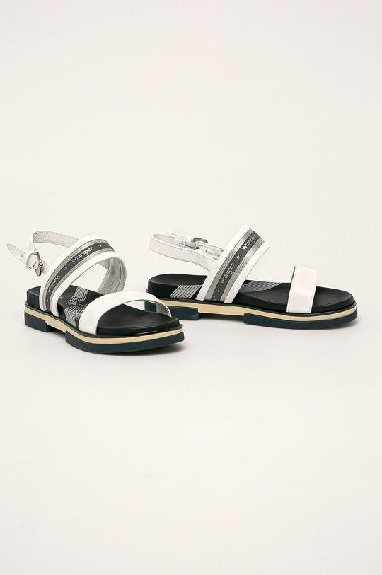 Wrangler - Sandále biela