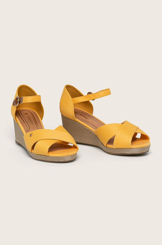 Wrangler - Сандали жълт