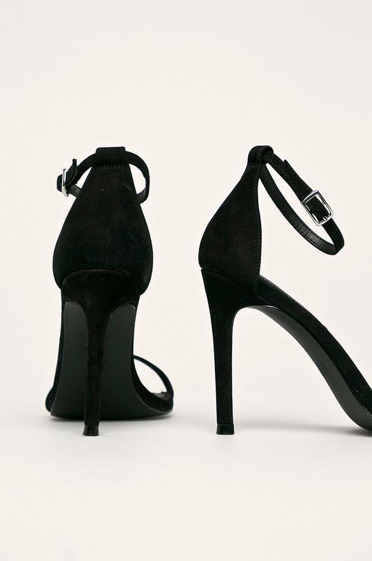 Steve Madden - Sandale de piele Abby Gamba: Piele întoarsă Interiorul: Material sintetic Talpa: Material sintetic