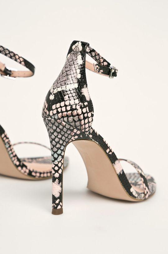 viacfarebná Steve Madden - Kožené sandále Abby