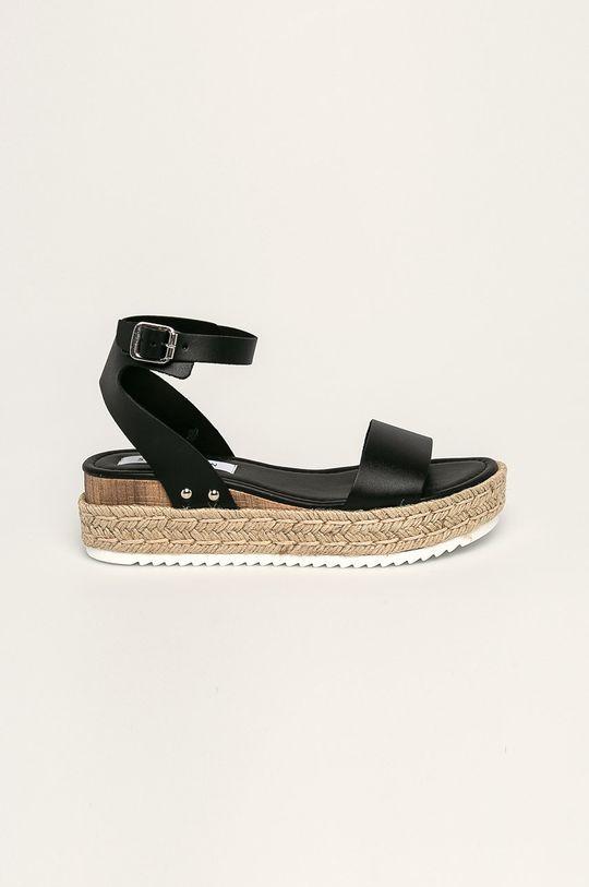čierna Steve Madden - Kožené sandále Chaser Dámsky
