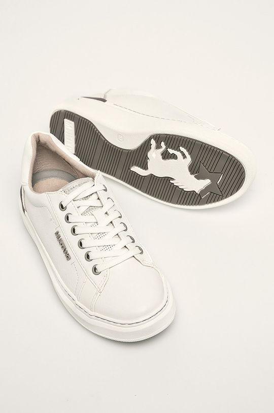 biela Mustang - Topánky