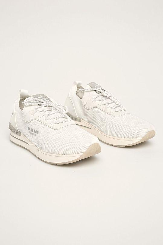 Mustang - Topánky biela