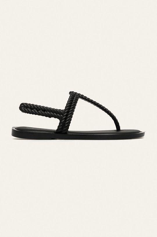 čierna Melissa - Sandále Flash Sandal+Salinas Dámsky