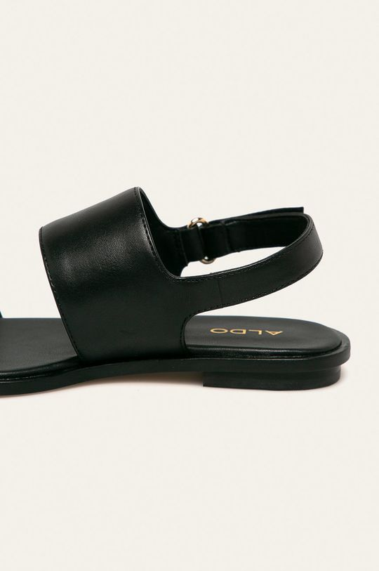 czarny Aldo - Sandały skórzane Sula