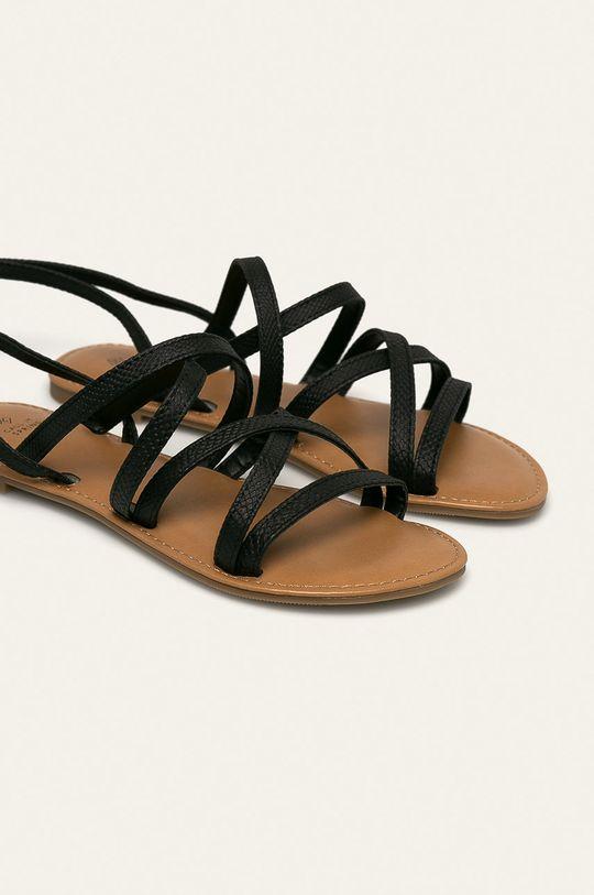 Call It Spring - Sandale Zampatti negru
