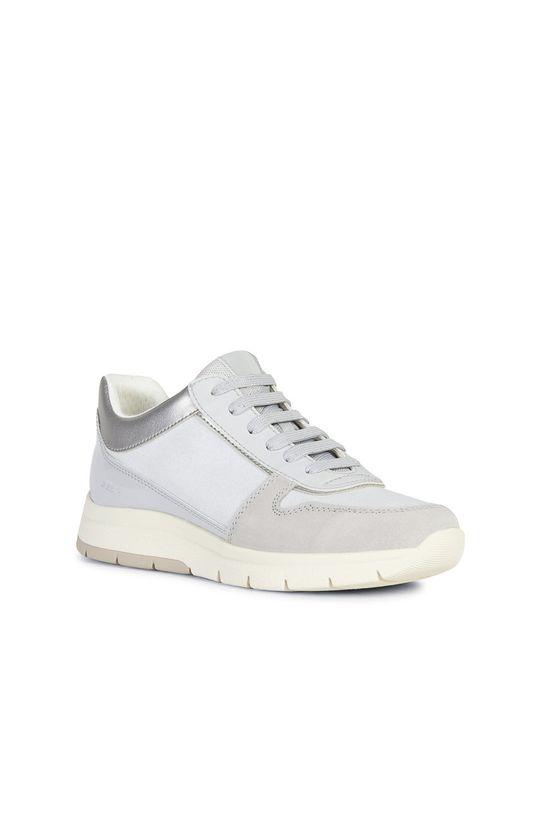 Geox - Pantofi gri deschis