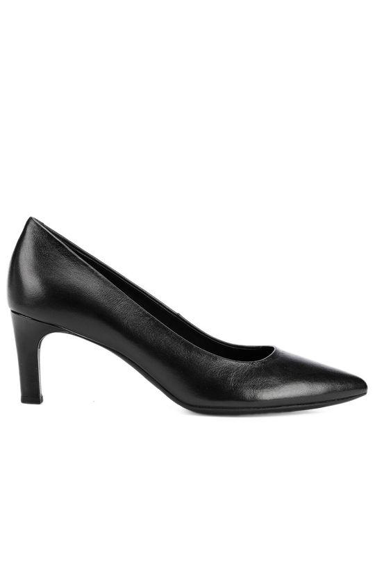 negru Geox - Pantofi de piele De femei