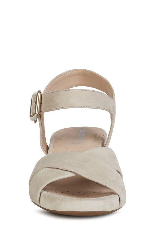 Geox - Sandały skórzane Cholewka: Skóra zamszowa, Wnętrze: Skóra naturalna, Podeszwa: Materiał syntetyczny
