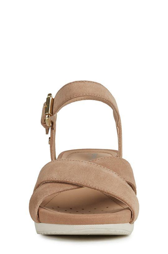 Geox - Sandały skórzane Cholewka: Skóra zamszowa, Wnętrze: Materiał syntetyczny, Skóra naturalna, Podeszwa: Materiał syntetyczny