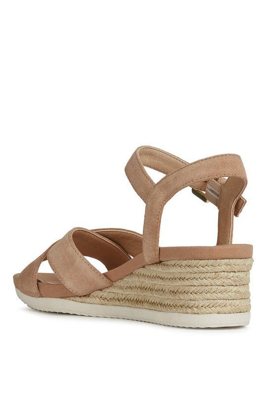 beżowy Geox - Sandały skórzane