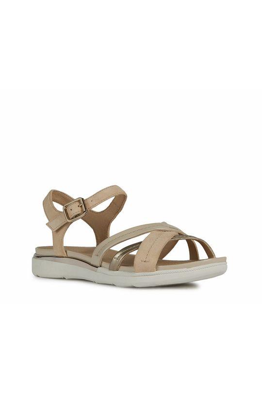 Geox - Sandále béžová