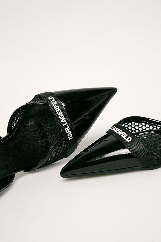 negru Karl Lagerfeld - Stilettos de piele