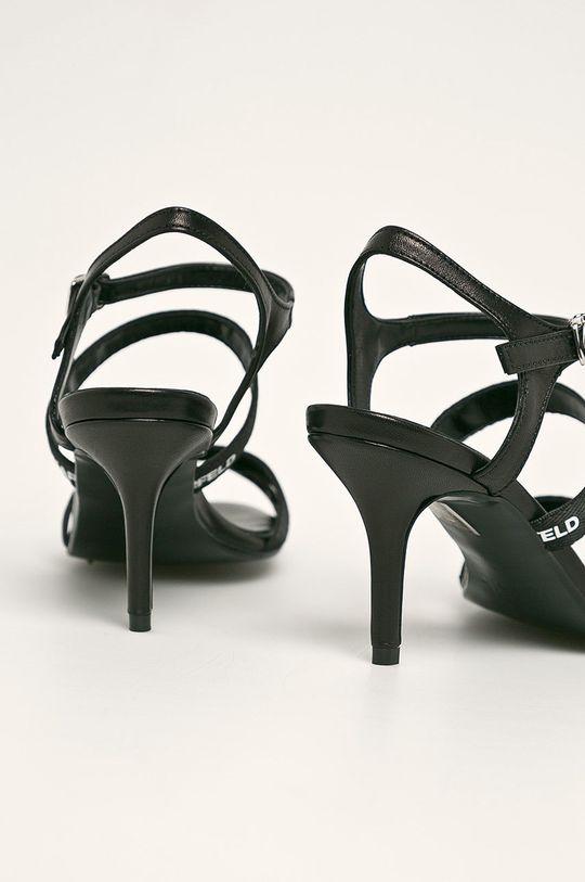 Karl Lagerfeld - Stilettos de piele Gamba: Piele naturala Interiorul: Material sintetic, Piele naturala Talpa: Piele naturala